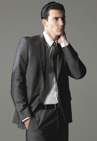 ceinture avec costume