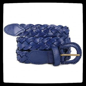 ceinture bleue