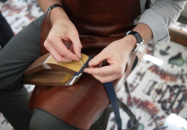 comment coudre le cuir a la main