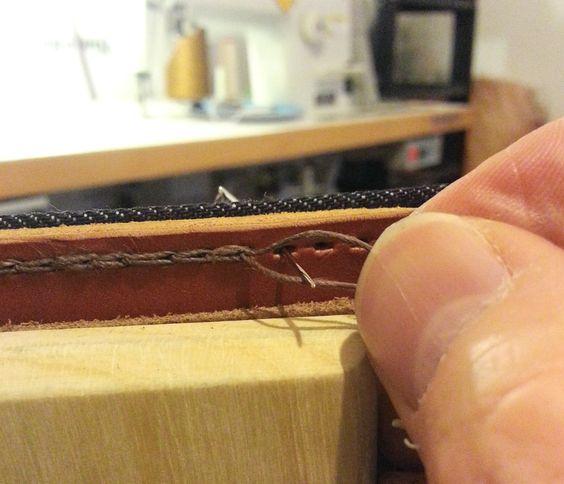 Alene de couture pour cuir