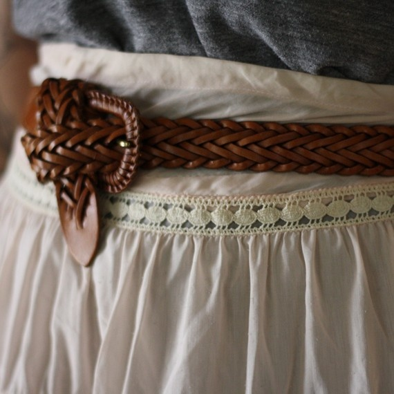 ceinture cuir robuste