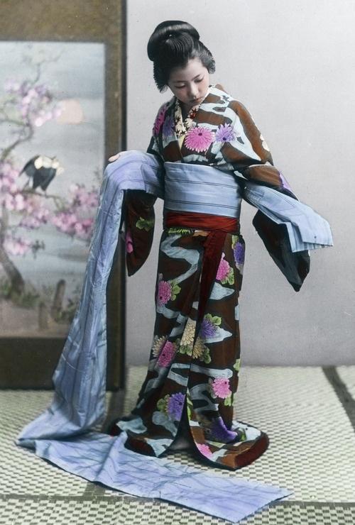 comment mettre ceinture kimono