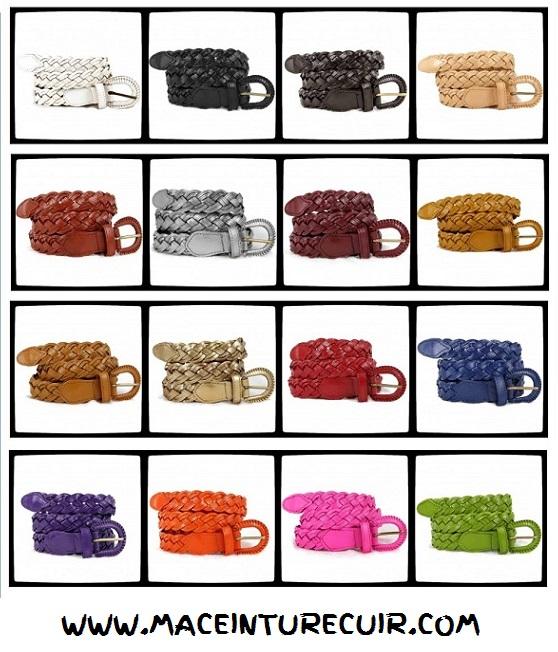 boutique ceinture cuir artisanale