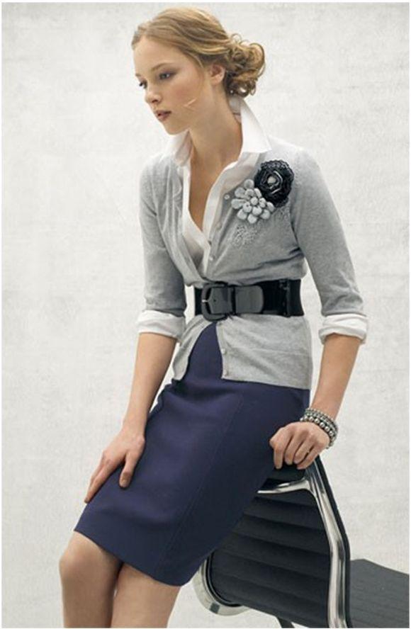 porter ceinture jupe fourreau